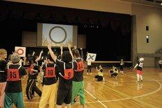 「EXIT TUNES ACADEMY UNDOKAI 2015 ~秋の大運動会~」で行われたETAウルトラクイズの様子。(提供:EXIT TUNES)
