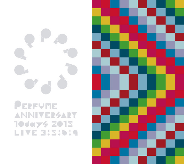 Perfume「Perfume Anniversary 10days 2015 PPPPPPPPPP『LIVE 3:5:6:9』」初回限定盤ジャケット