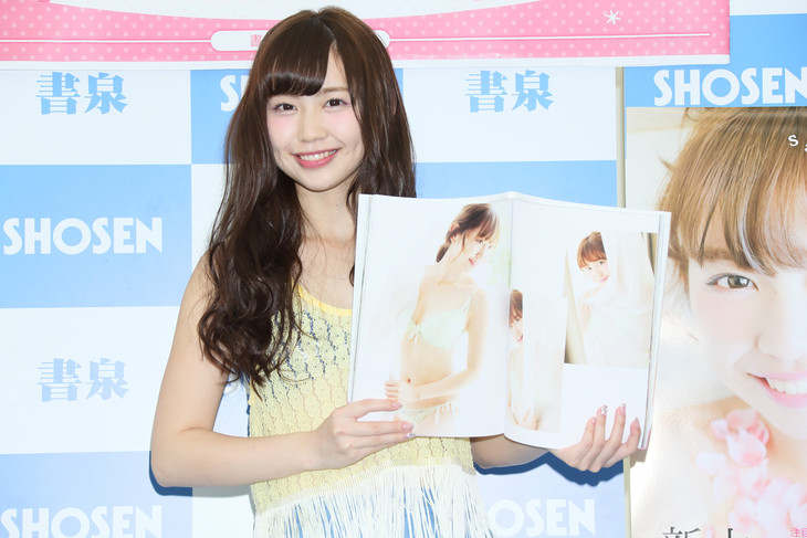 新木さくら1st写真集「sakura days」発売記念イベントの様子。(写真提供:東京ニュース通信社)