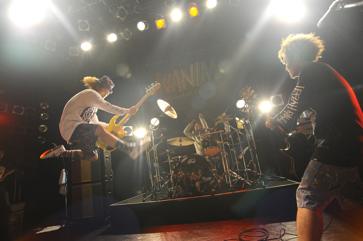 WANIMA「Are You Coming? Tour」東京・TSUTAYA O-WEST公演の様子。(Photo by Yuji Honda)