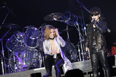 X JAPAN (c)テレビ朝日ドリームフェスティバル2015