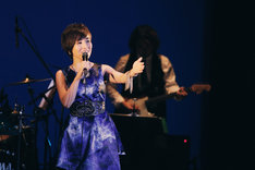 「Nao Yoshioka Rising Japan Tour 2015 -Living Our Dreams」東京・イイノホール公演の様子。 (Photo by Tsuneo Koga)
