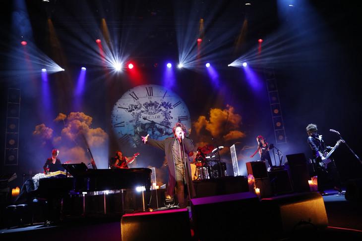 Tourbillon「10th Anniversary Live 2015」の様子。(写真提供:エイベックス・グループ)