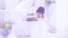 水瀬いのり「夢のつぼみ」ミュージックビデオのワンシーン。