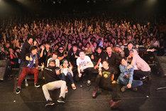 「POTSHOT 20th Anniversary Tour Final」東京・LIQUIDROOM公演終了後の様子。(Photo by So Kuramochi)