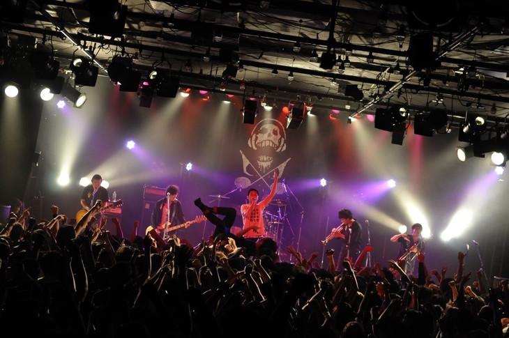 「POTSHOT 20th Anniversary Tour Final」東京・LIQUIDROOM公演の様子。(Photo by rockey)