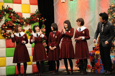 CS放送TBSチャンネル1「乃木坂46えいご(のぎえいご)クリスマス60分SP」公開収録の様子。