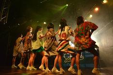 「lyrical school one man live 小松ひな卒業公演」の様子。