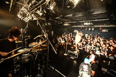 THE MUSMUS「THE MUSMUS ONE MAN LIVE」東京・TSUTAYA O-Crest公演の様子。(Photo by shingo tamai)