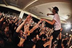 NUBOのライブの様子。(Photo by OOMO)