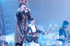2011年12月に行われた東京ドームライブの様子。 (c)KING RECORDS