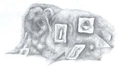 志人×DJ DOLBEE「明晰夢~Lucid Dreams~ 愛蔵版TAPE 原始睡眠 バージョン -Primitive sleep ver」ジャケット