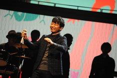 「第66回NHK紅白歌合戦」リハーサル中の星野源。