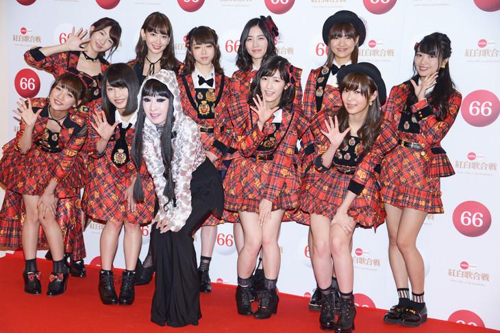 AKB48とプリンセス天功。