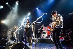 "「Homecomings ONE MAN LIVE TOUR ""PERFECT SOUNDS FOREVER""」UNIT公演の様子。(Photo by Ray Otabe)"