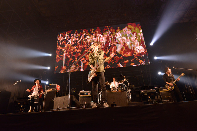 The BONEZ(写真提供:rockin'on japan)