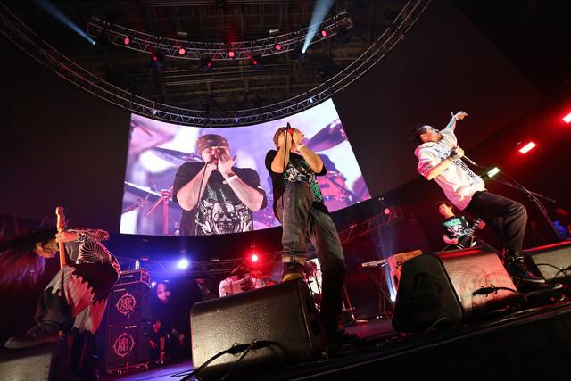 WAGDUG FUTURISTIC UNITY(写真提供:rockin'on japan)