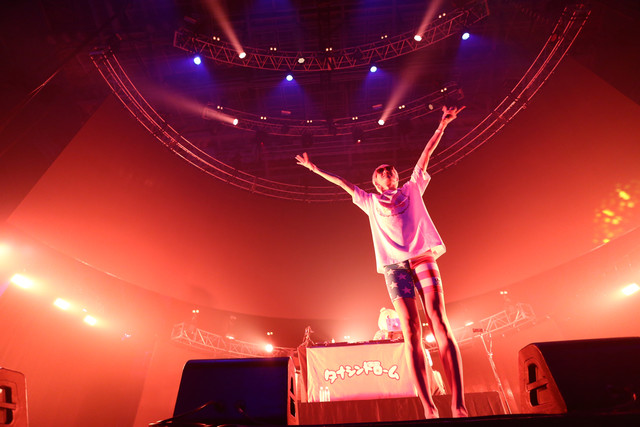タナシンドローム(写真提供:rockin'on japan)