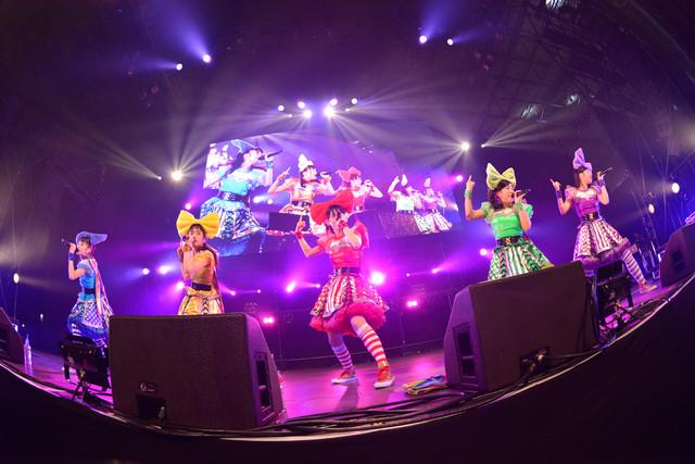チームしゃちほこ(写真提供:rockin'on japan)