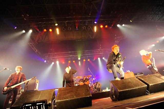 ROTTENGRAFFTY(写真提供:rockin'on japan)