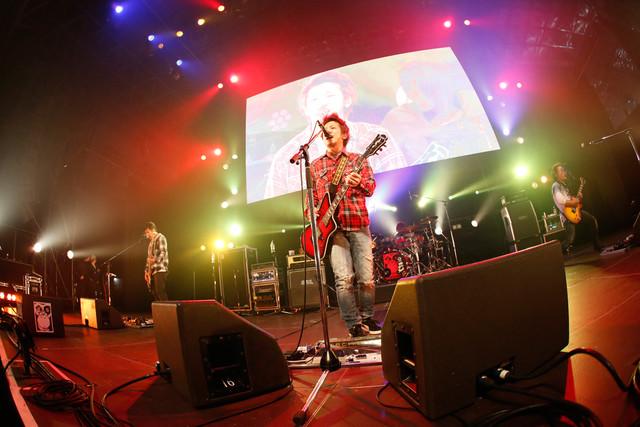KNOCK OUT MONKEY(写真提供:rockin'on japan)