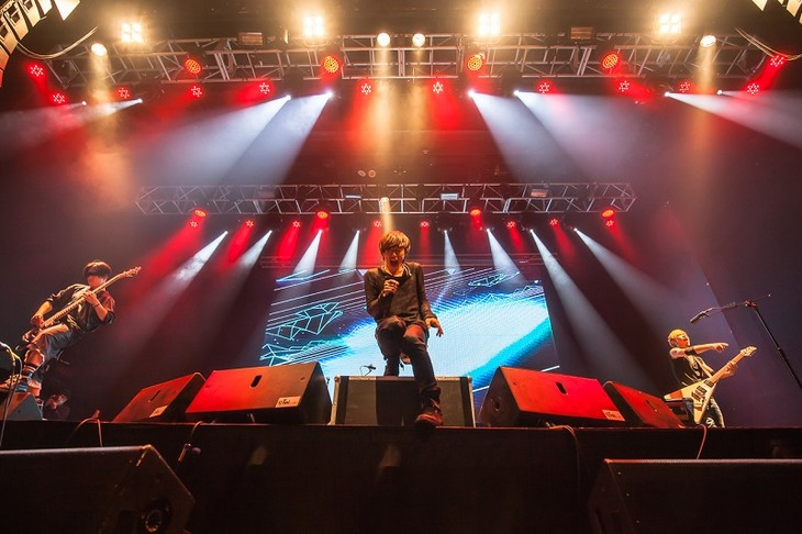 「SPYAIR LIVE in Taipei ~I'M A BELIEVER 2016」の様子。(Photo by Alex Hong)