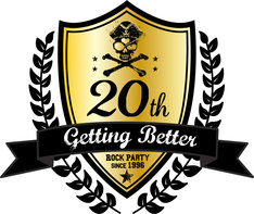 「Getting Better 20th Anniversary」ロゴ