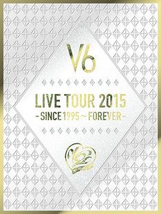 V6「V6 LIVE TOUR 2015 -SINCE 1995~FOREVER-」初回限定A盤ジャケット