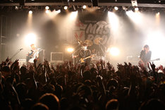 THE ORAL CIGARETTESのライブの様子。(Photo by Viola Kam [V'z Twinkle])