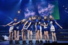 東京・TOKYO DOME CITY HALLにて行われた「高城亜樹・永尾まりや 卒業コンサート」の様子。(c)AKS