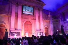 i☆Ris「Goin' on」リリース記念イベントの様子。