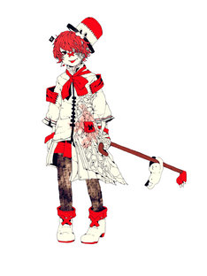 「VOCALOID4 Library Fukase」のオリジナルキャラクター。