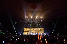 THE IDOLM@STER THREE STARS!!!のステージの様子。(写真提供:エムオン・エンタテインメント)