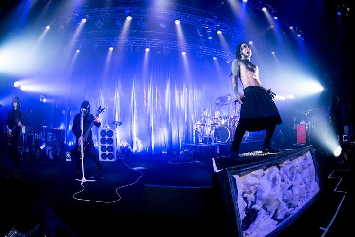 「TOUR16 FINEM LAUDA」1月27日の神奈川・CLUB CITTA'公演の様子。(撮影:尾形隆夫)