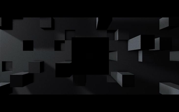 「greyscale」ミュージックビデオのワンシーン。