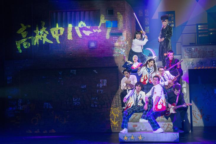 2013年上演の前作「大パルコ人2 バカロックオペラバカ 高校中パニック! 小激突!!」のワンシーン。(撮影:引地信彦)