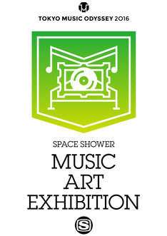 「SPACE SHOWER MUSIC ART EXHIBITION」ロゴ