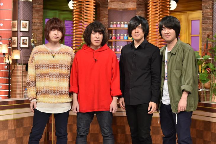 KANA-BOON (c)テレビ朝日
