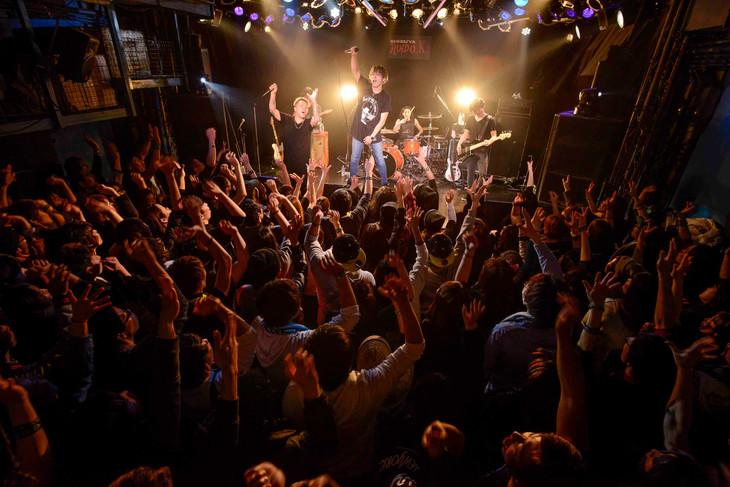 BACK-ON「5thアルバム『PACK OF THE FUTURE』全曲初披露ワンマンライブ」の様子。(写真提供:エイベックス・ミュージック・クリエイティヴ)