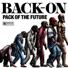 BACK-ON「PACK OF THE FUTURE」CD+DVD盤ジャケット