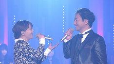 華原朋美と石丸幹二。(写真提供:NHK)