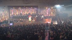 「明日へつなげるライブ~茨城県高萩市~」の様子。(写真提供:NHK)
