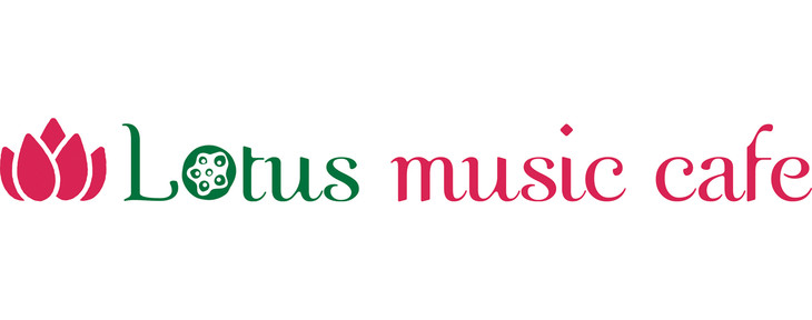 「Lotus music cafe」ロゴ
