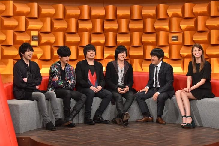 flumpoolのトークの様子。(c)日本テレビ
