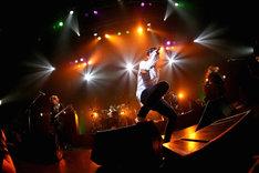 LACCO TOWER「独奏演奏会」東京・TSUTAYA O-EAST公演の様子。(Photo by Kohei Suzuki)