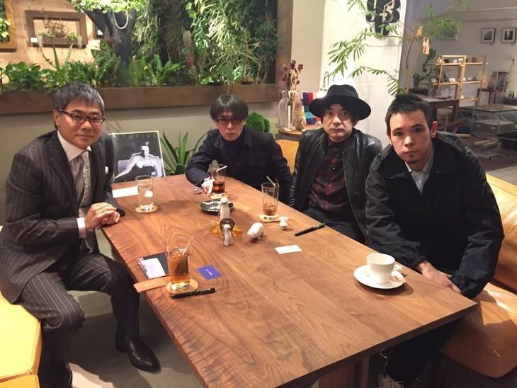 左よりいとうせいこう、砂原良徳、小山田圭吾、LEO今井。 (c)TBS