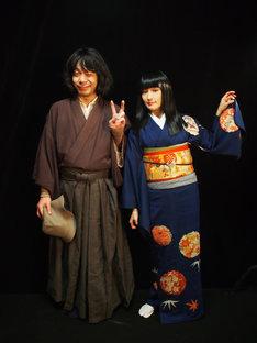 左から峯田和伸(銀杏BOYZ)、安藤裕子。