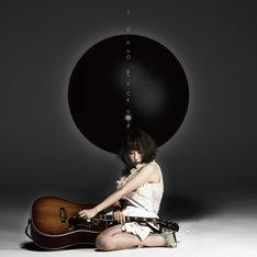 大森靖子「TOKYO BLACK HOLE」黒盤ジャケット