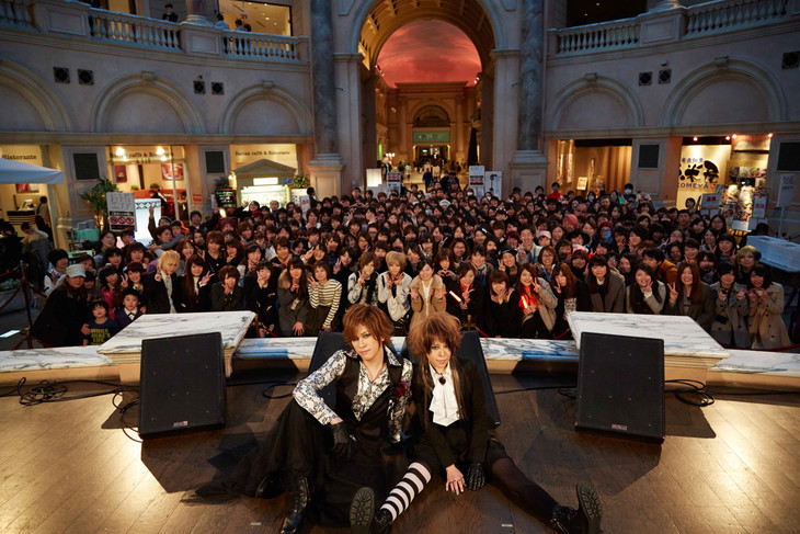 ニューシングルのリリースイベントを行ったViCTiM。(撮影:青木早霞(PROGRESS-M))