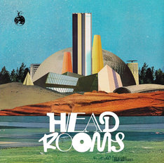 tacica「HEAD ROOMS」ジャケット